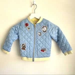 Disney Collection By Tutu Couture Bomber jacket 4T